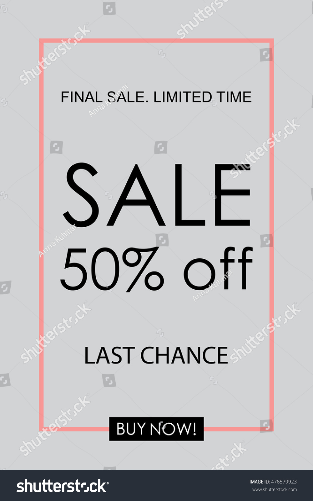 Promotional Poster Social Media Sale Banners Stock Vector HD ...