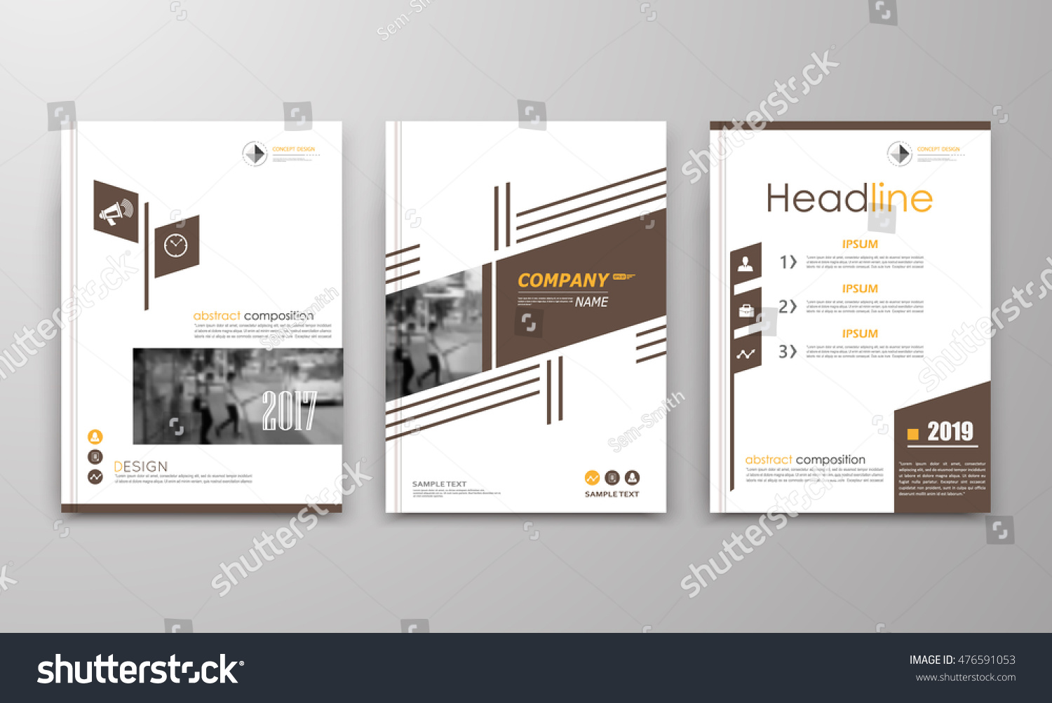 a brochure cover design ad frame stock vector  a4 brochure cover design ad frame font patch a4 title sheet model creative