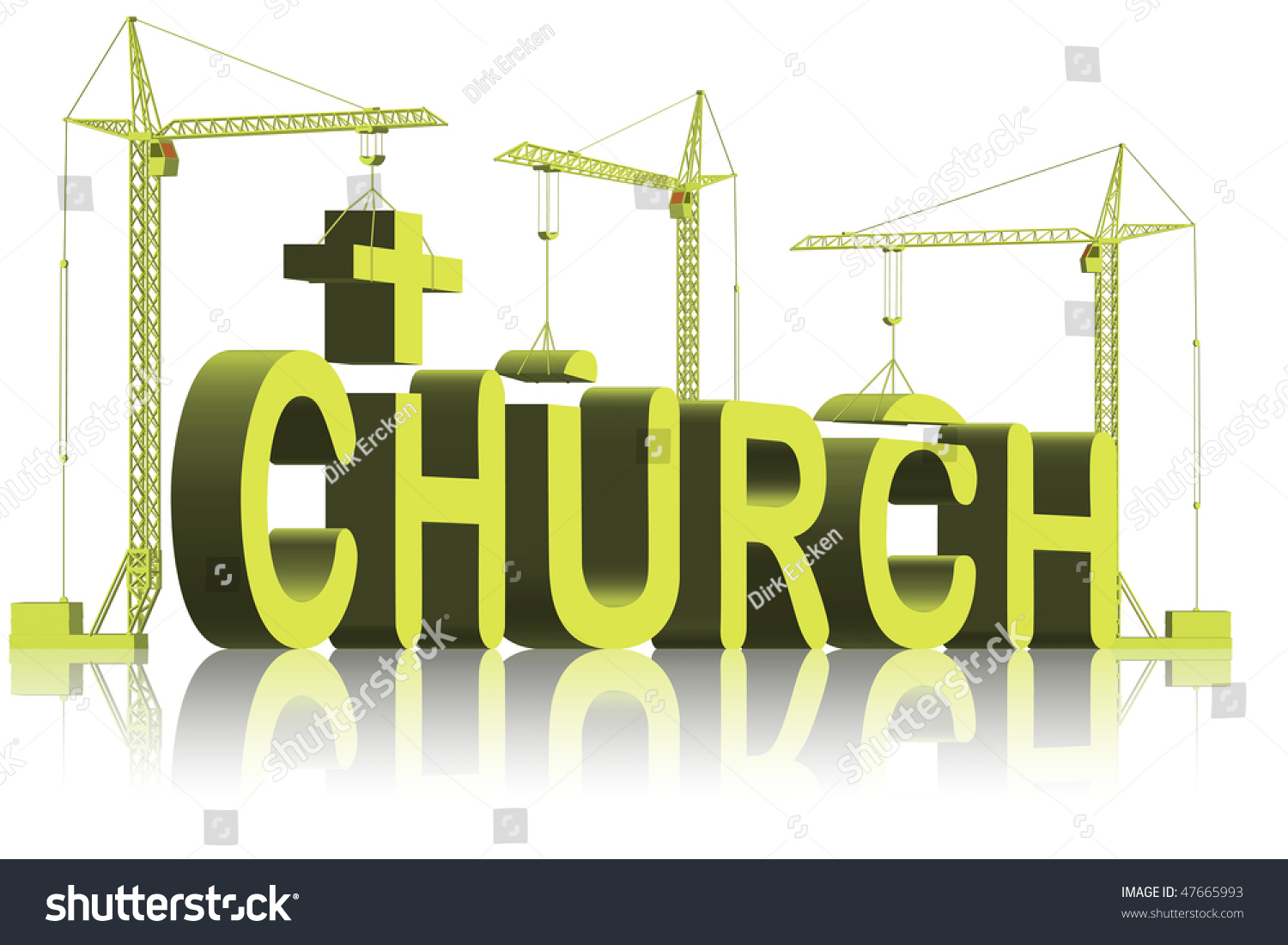 God S House Tower Letters