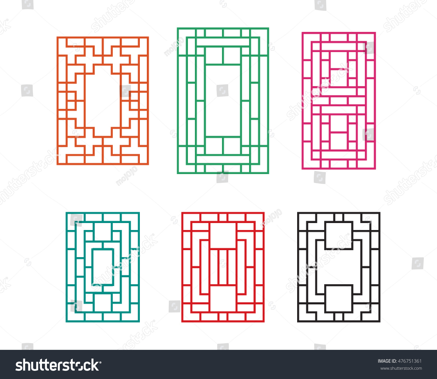 Chinese Fence Design Chinese ornament door window wall fence stock vector 476751361 chinese ornament for door window wall and fence workwithnaturefo