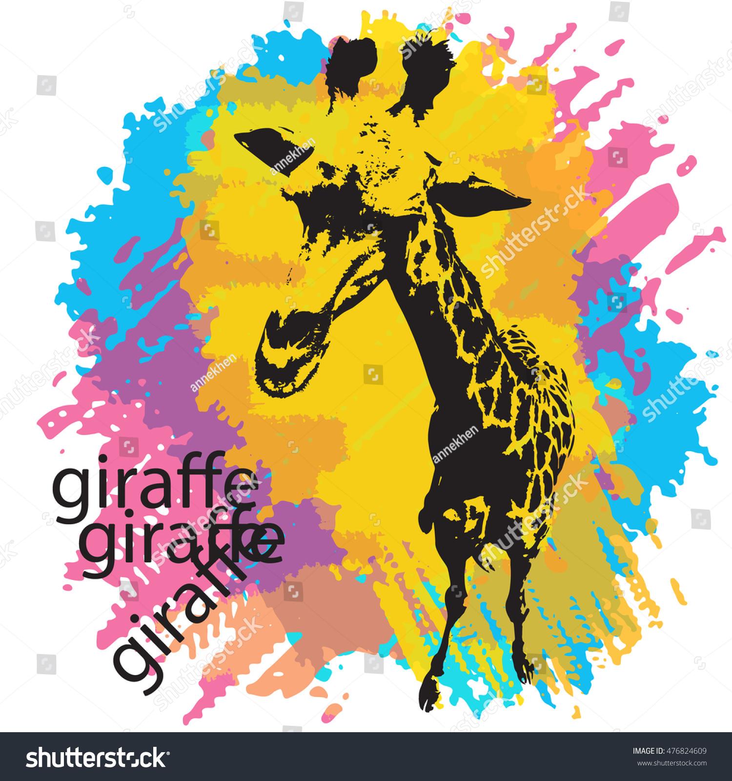design templates vectors vector artwork wwwresume formatcom stock vector vector illustration of giraffe silhouette on background - Wwwresume Formatcom