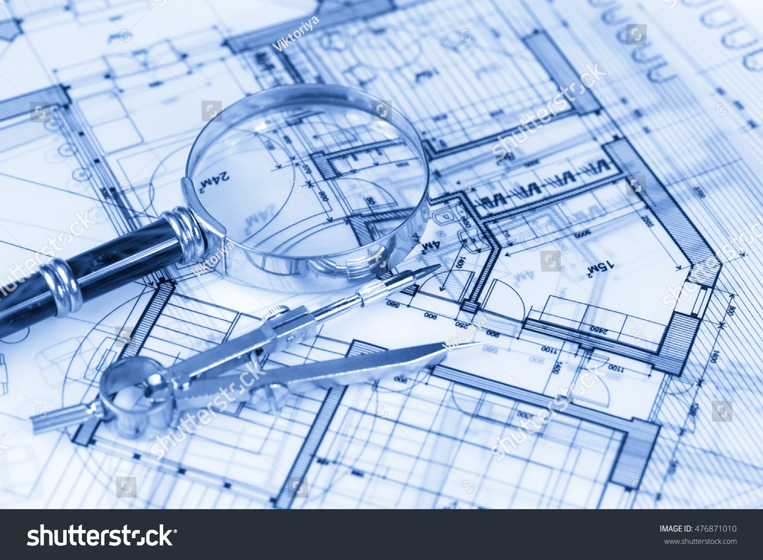 Royalty free architecture blueprint house plans for Architecture blueprints free
