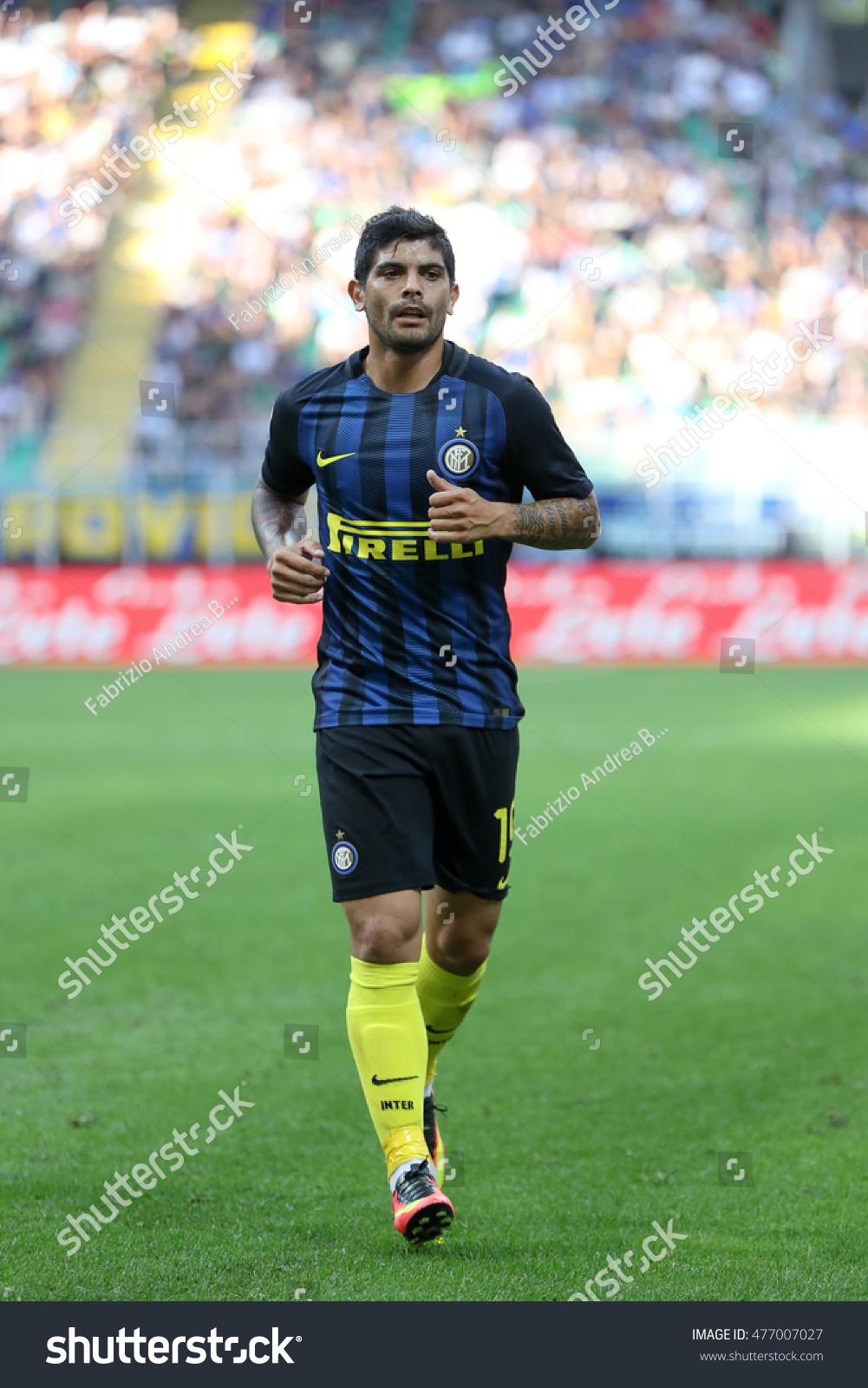 Milan Italy August 2016 Italy League Stock