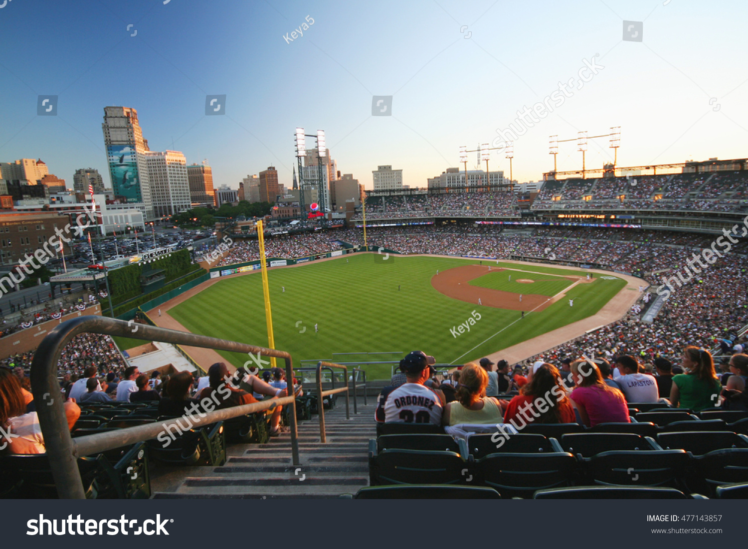 Comerica Park Detroit Michigan USA