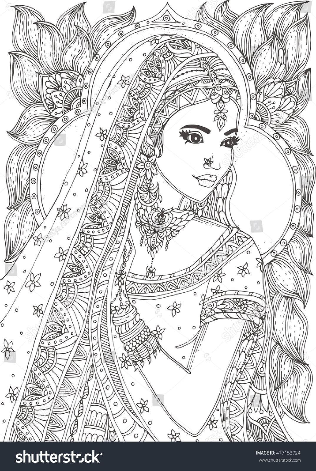 beautiful coloring pages realistic - photo#21