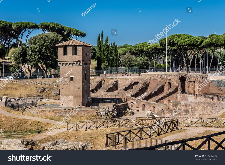 roman chariot races stadium