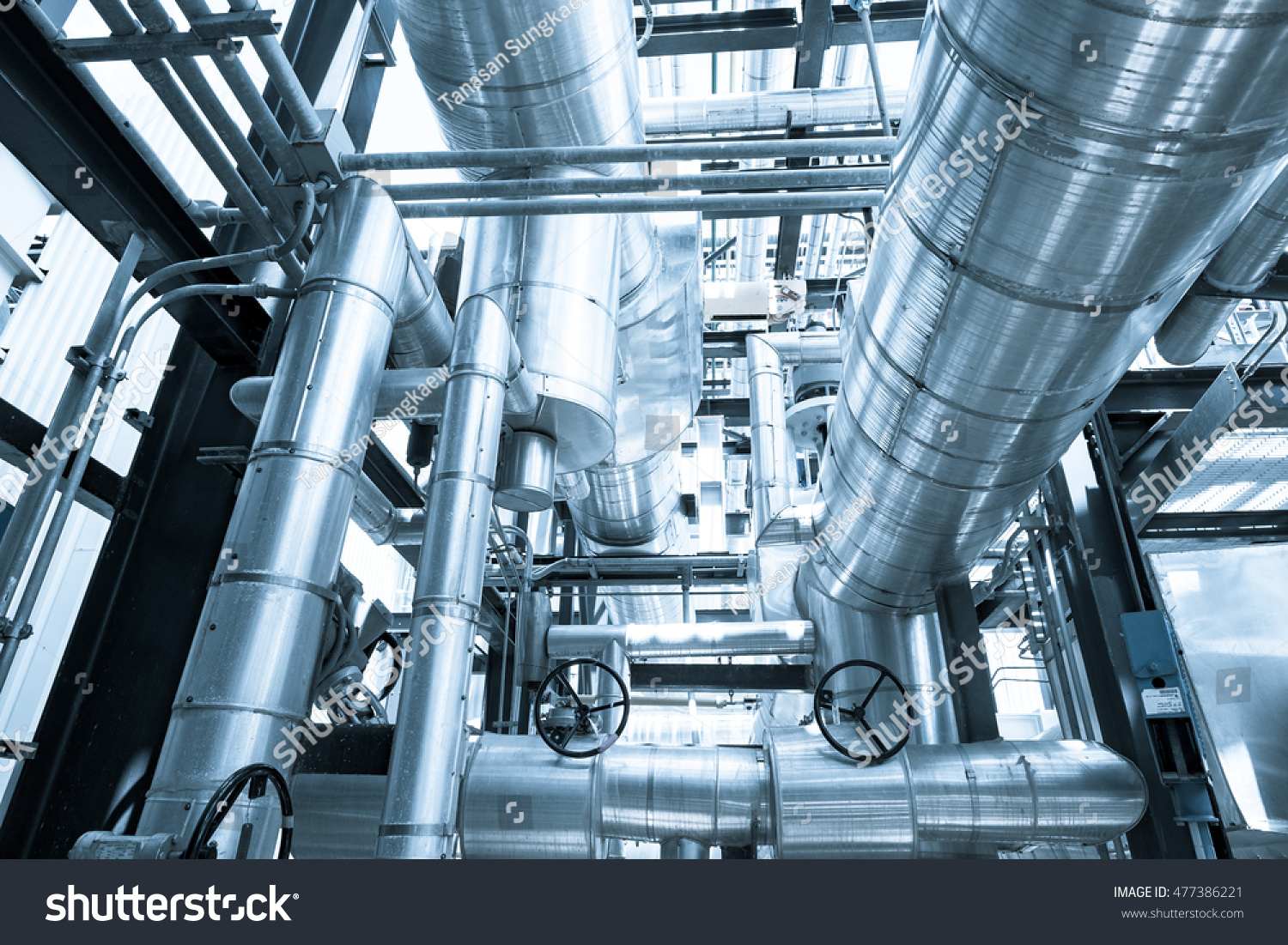 Top Floor Boiler Heat Recovery Steam Stock Photo (Edit Now ...