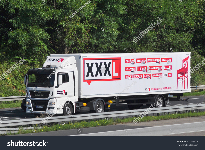 Frankfurtgermany Aug 25 Truck Xxxl On Stock Photo Edit Now