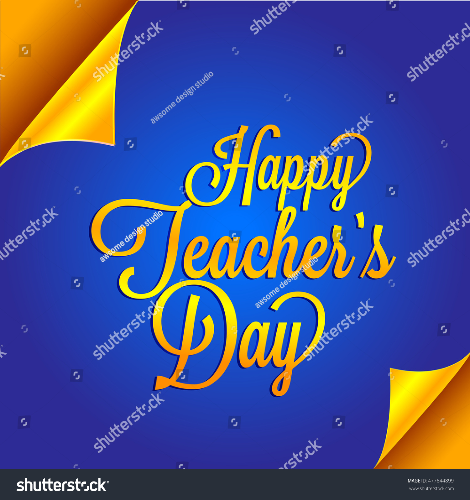 Creative greeting card teachers day celebration stock vector creative greeting card of teachers day celebration kristyandbryce Image collections