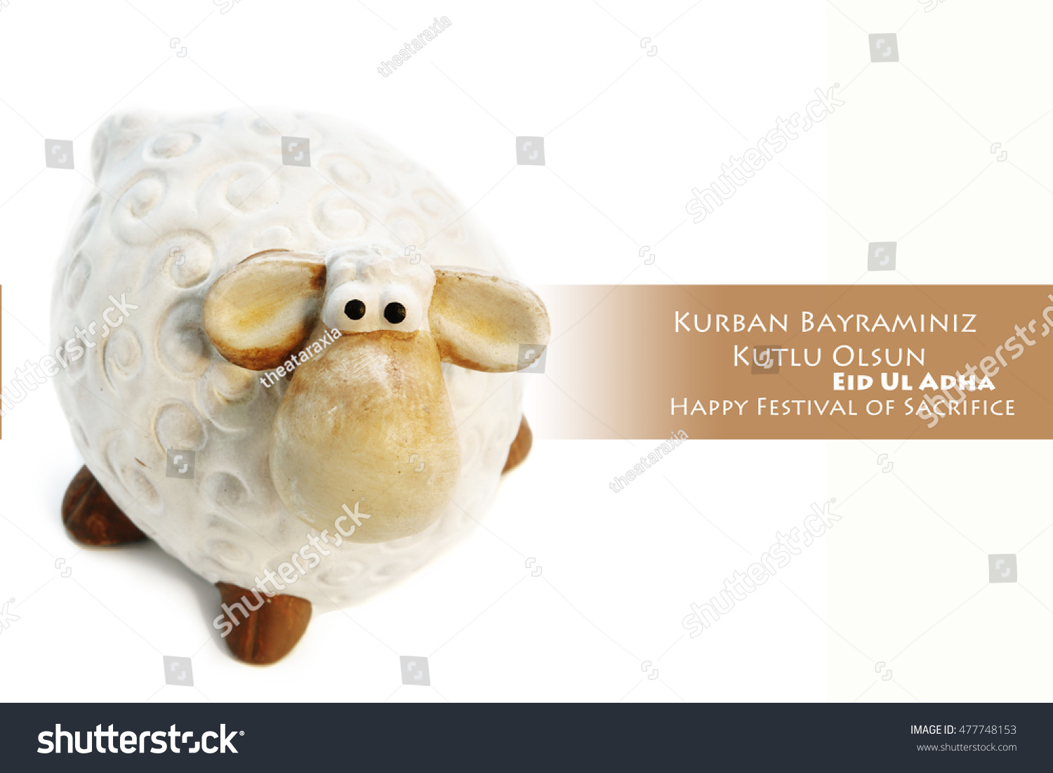 Feast of the sacrifice of the lamb for posts. Feast of the Sacrif (Eid al-Adha Mubarak) Feast of the Sacrifice Greeting (Turkish: Kurban Bayraminiz Kutlu Olsun)  #477748153