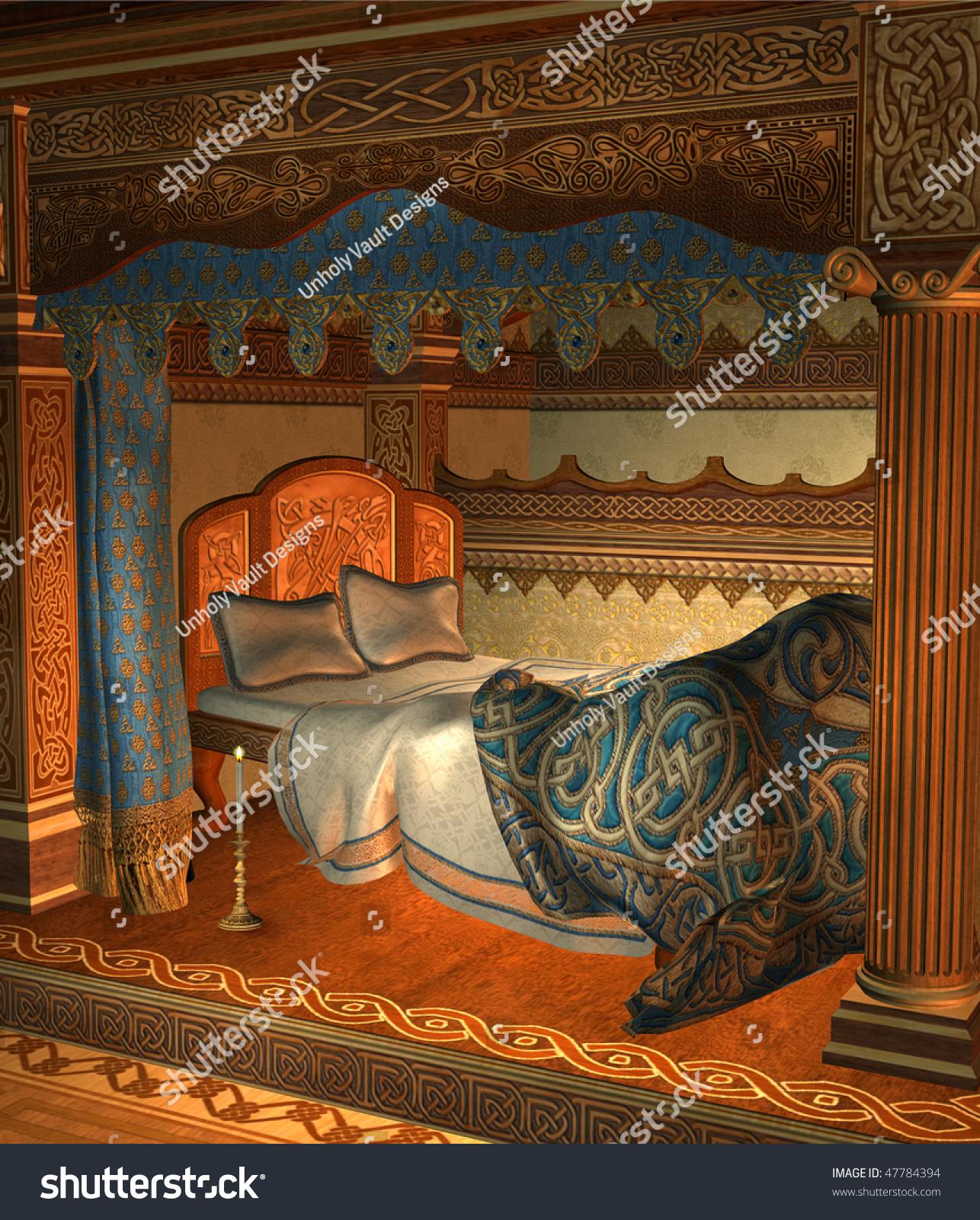 Me val Bedroom Celtic Ornaments Stock Illustration Shutterstock