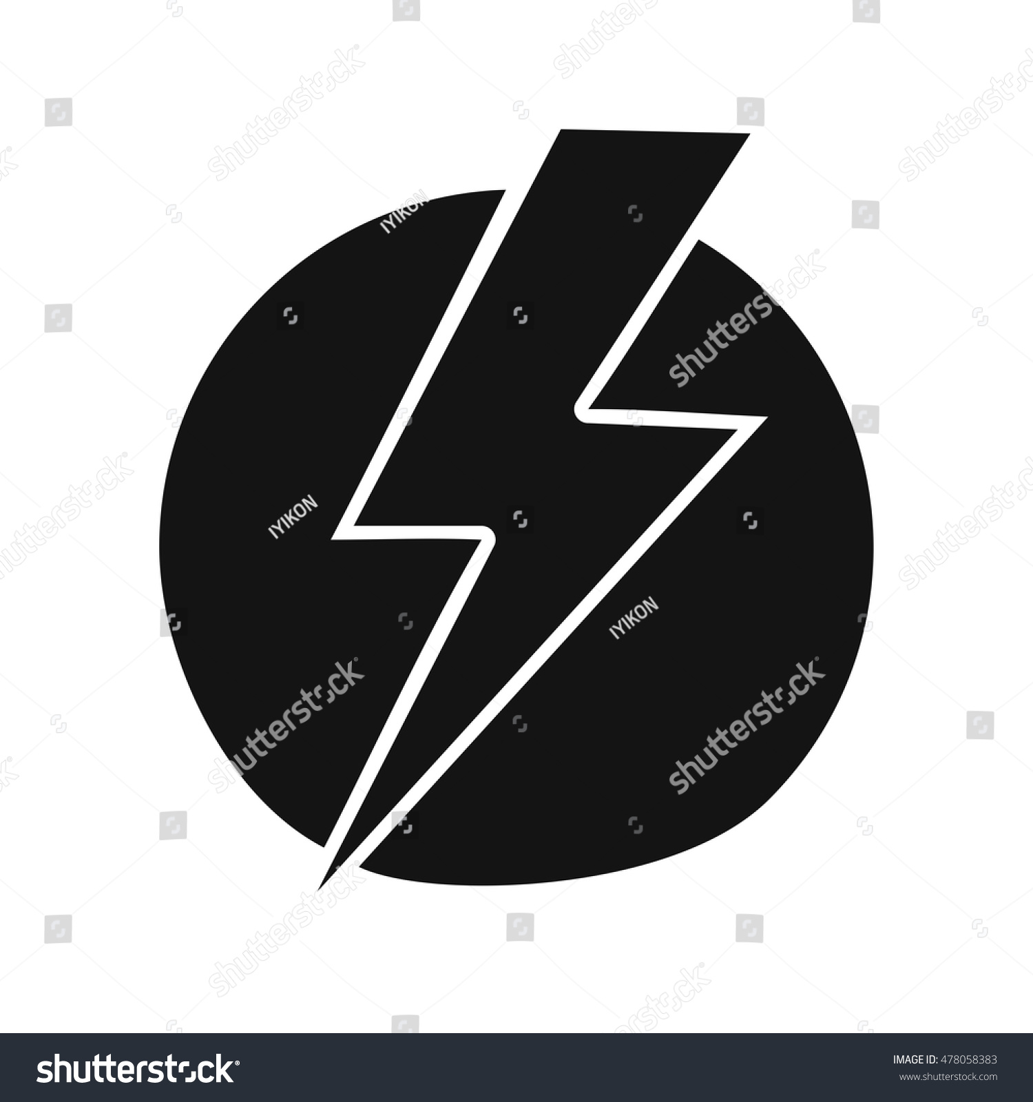 Electric shock stock vector 478058383 shutterstock electric shock biocorpaavc Image collections