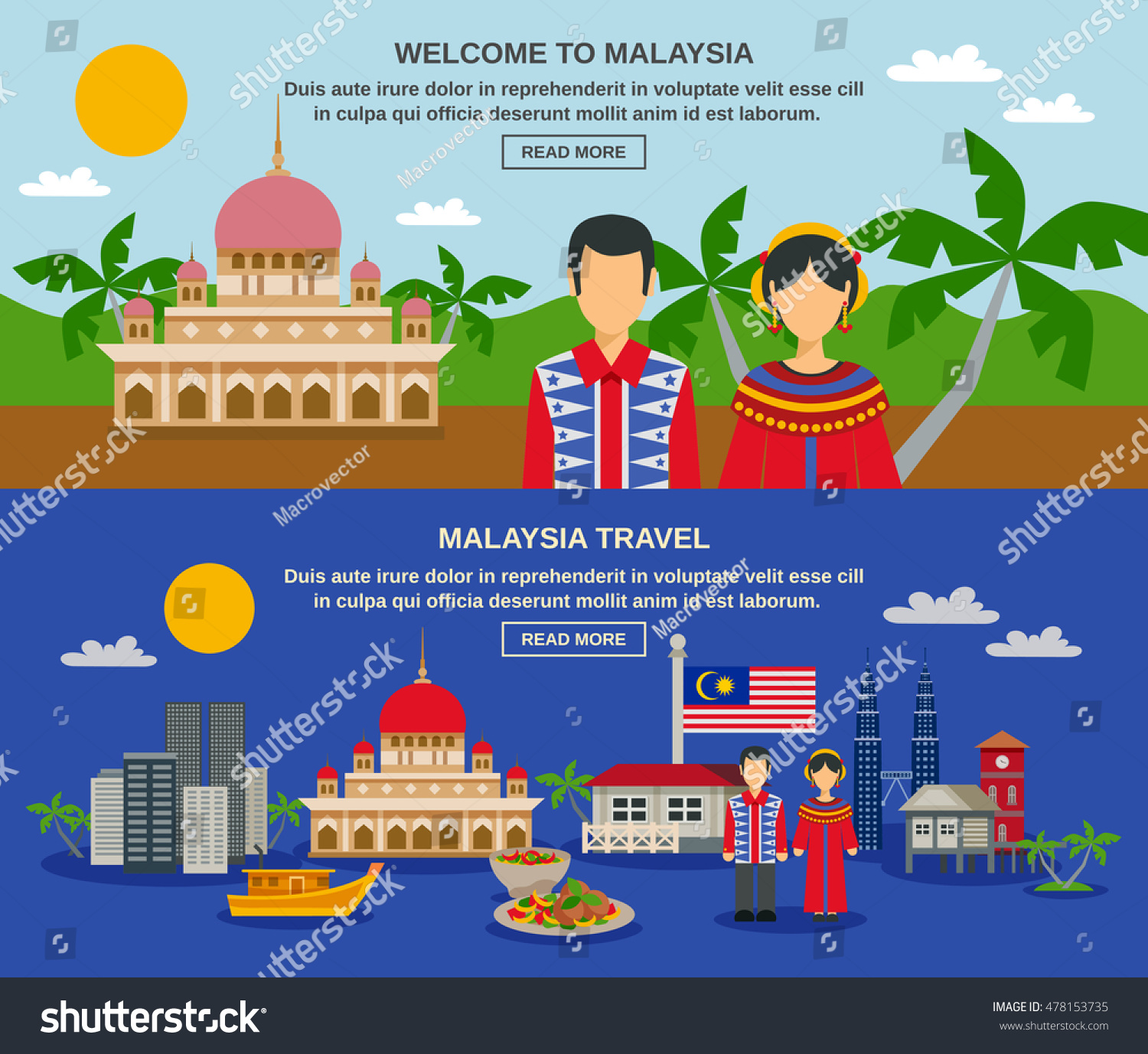 Malaysia Culture: Malaysia Culture Travelers Famous Twin Towers Stock