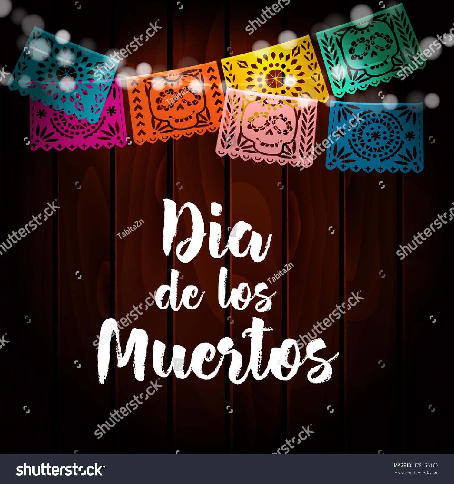Dia De Los Muertos Mexican Day Stock Vector 478156162 ...