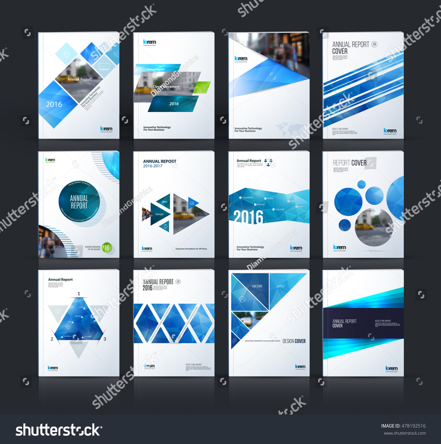 Vector Brochure Flyer Magazine Folder T Shirt Cover: Brochure Template Layout Cover Design Annual Stock Vector