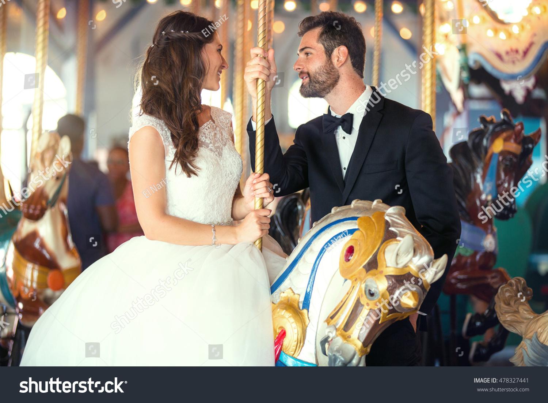 Classic Style Wedding Dress Tuxedo Bride Stock Photo 478327441 ...