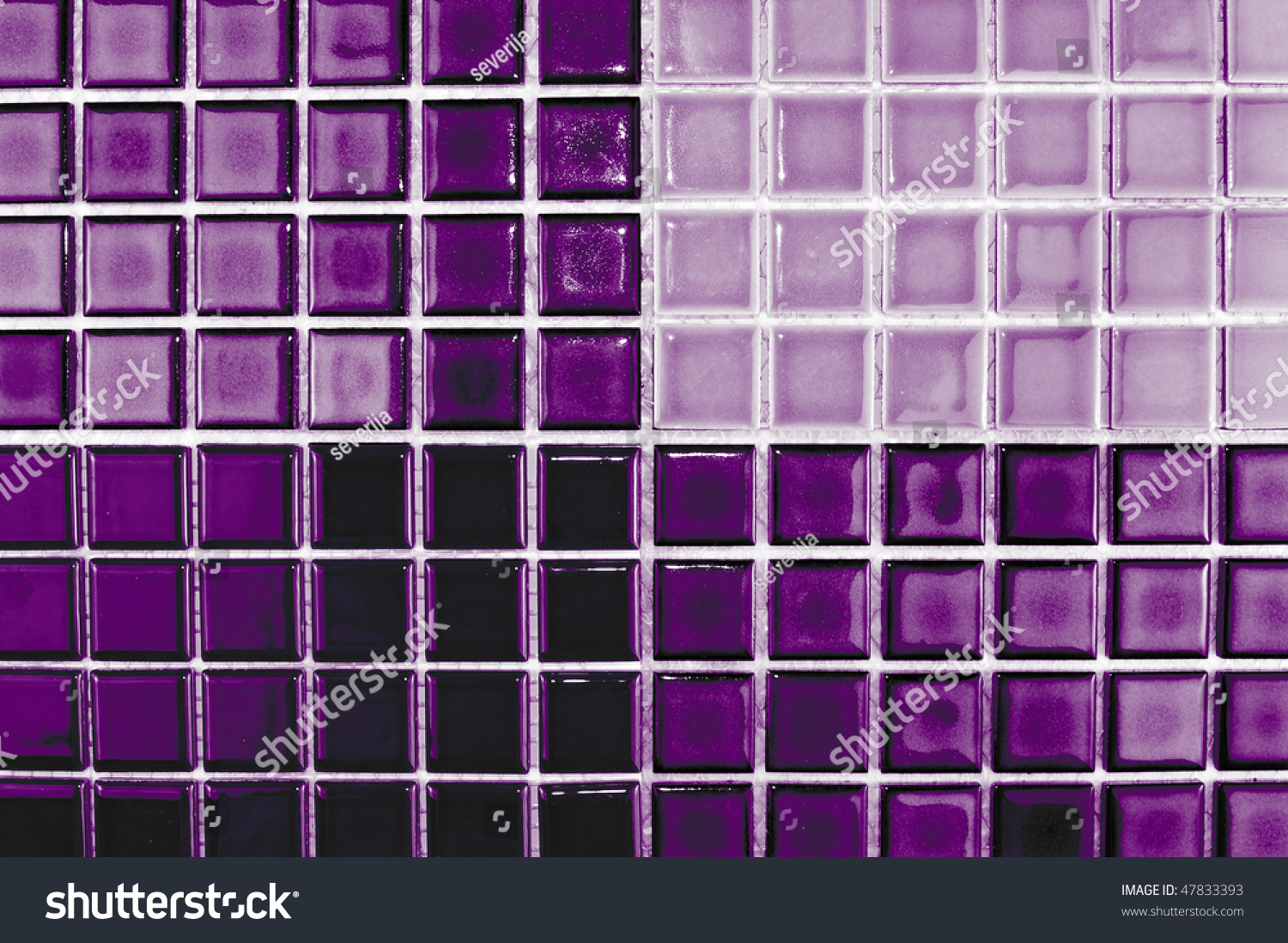 Design Aubergine Color ceramic mosaic tiles aubergine purple color stock photo 47833393 in color