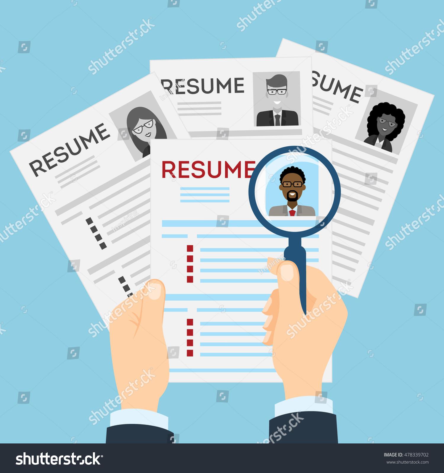 stock resumes