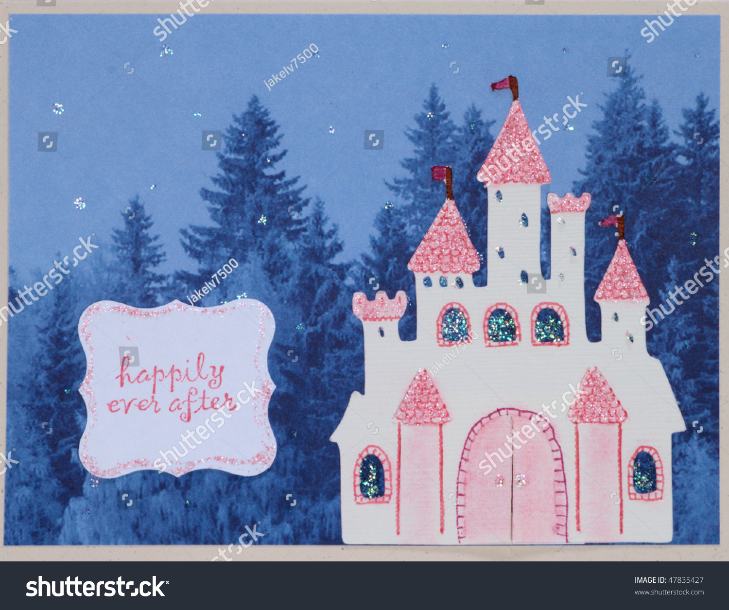 Paper craft greeting card face stock photo 47835427 for Craft paper card stock