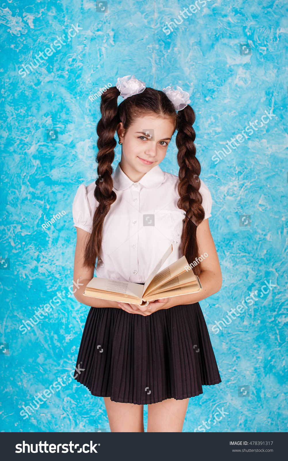 Skirt Pigtail teen in mini