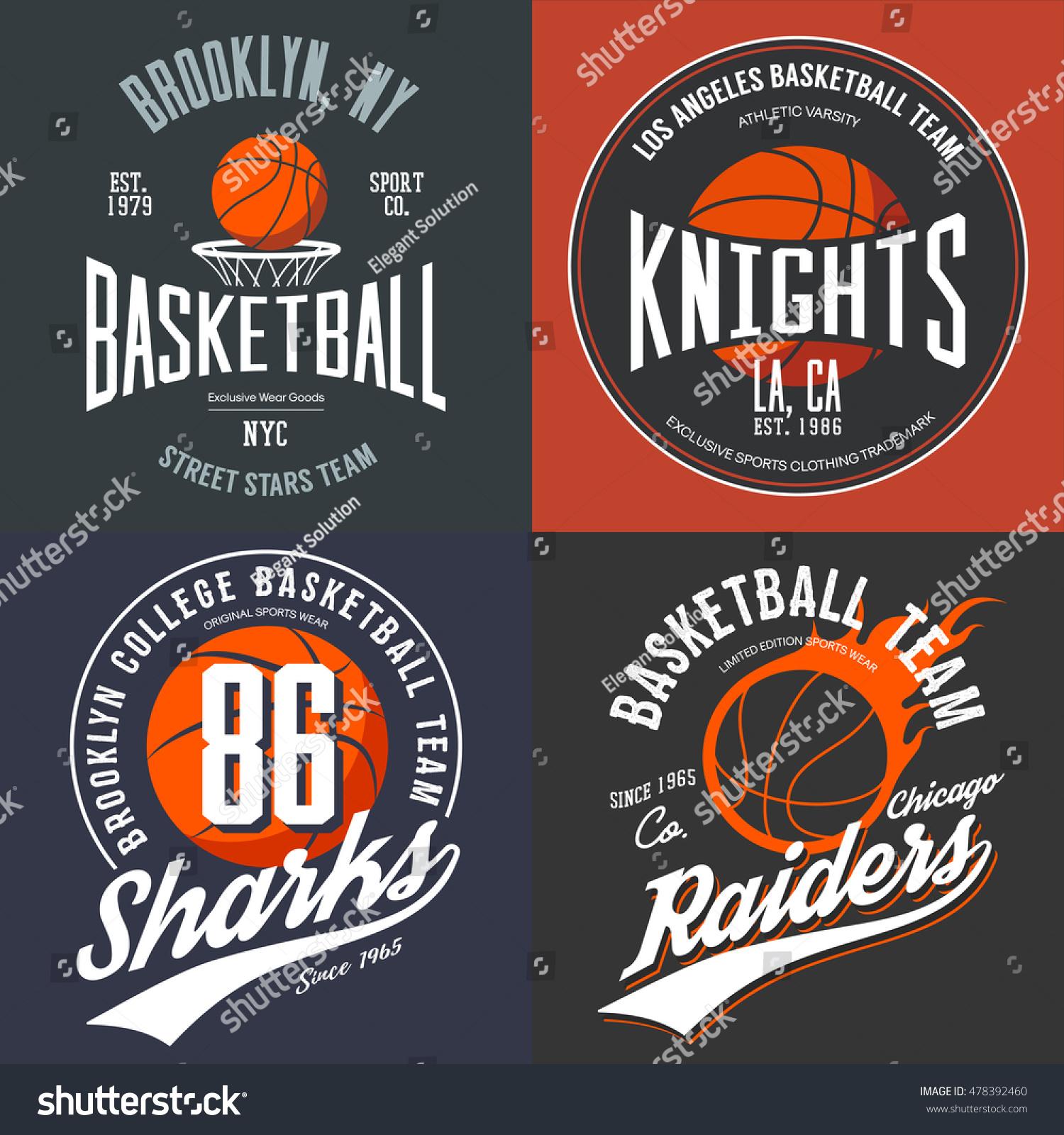 Shirt design usa - T Shirt Design For Basketball Fans For Usa New York Brooklyn Street Team Knights