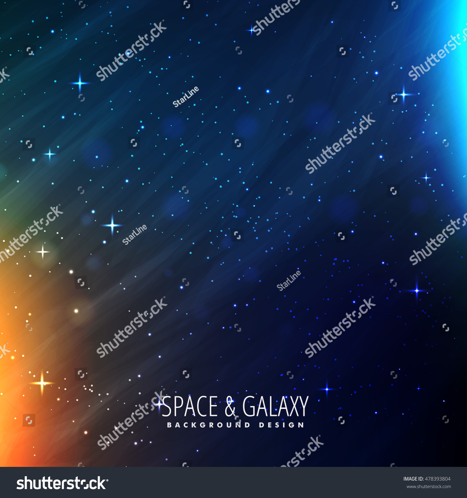 galaxy template stock vector 478393804 shutterstock