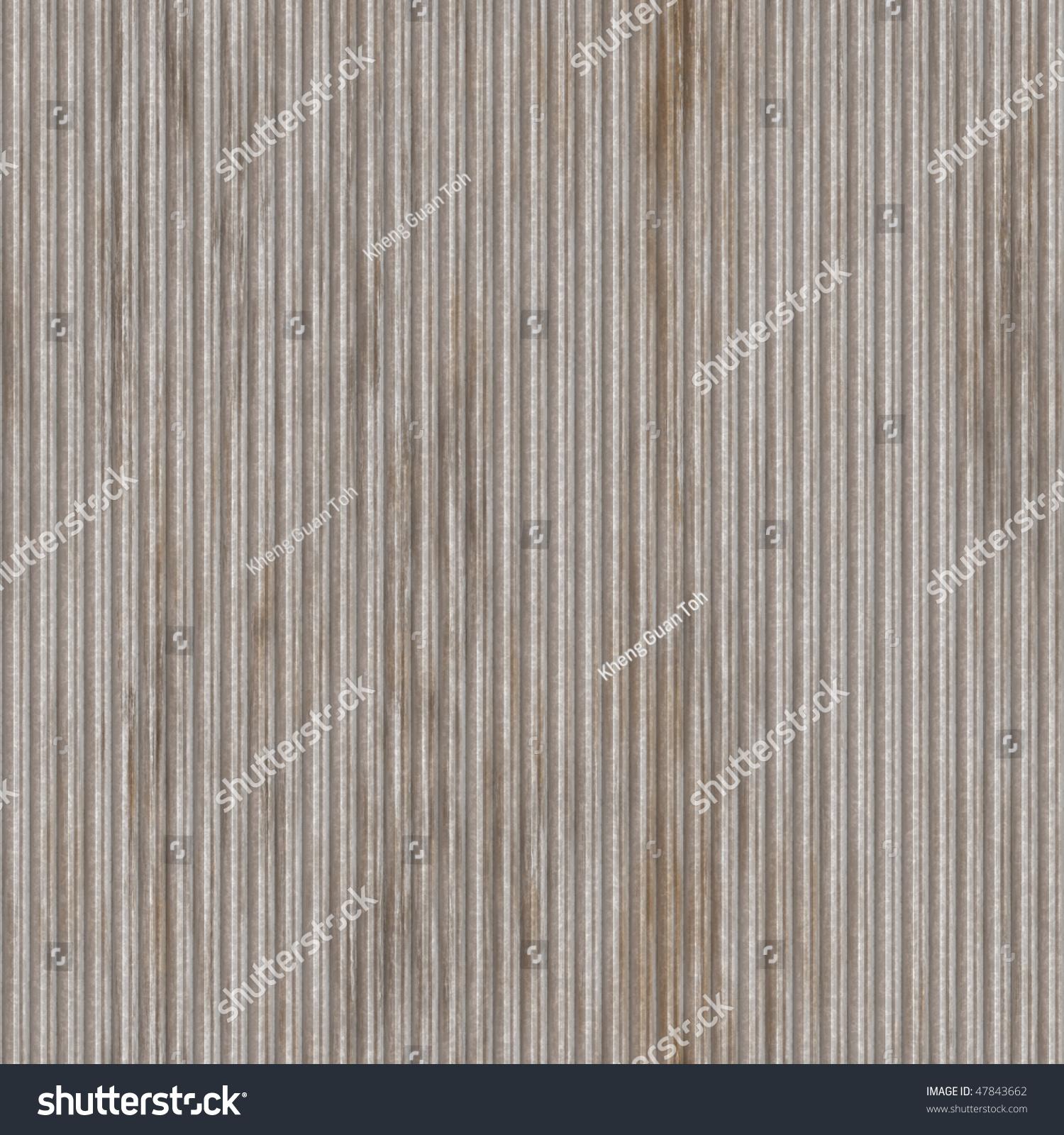Corrugated Metal Ridged Surface Corrosion Seamless Stock