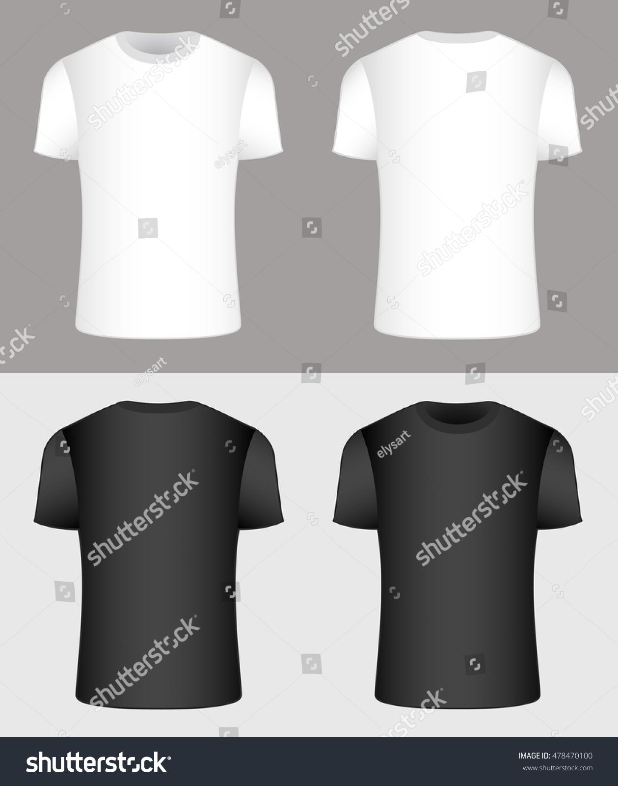 Black t shirt vector - T Shirt Black And White Vector