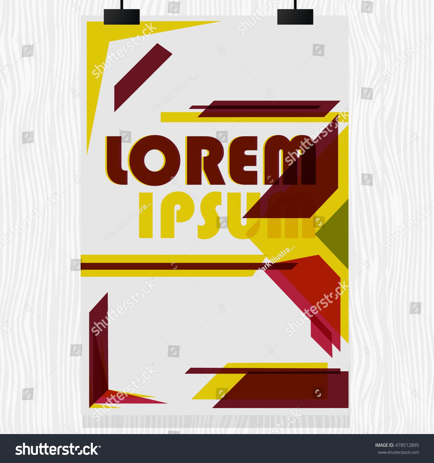Design poster new - Magazine Flyer Design Poster Template Design New Flyer Design