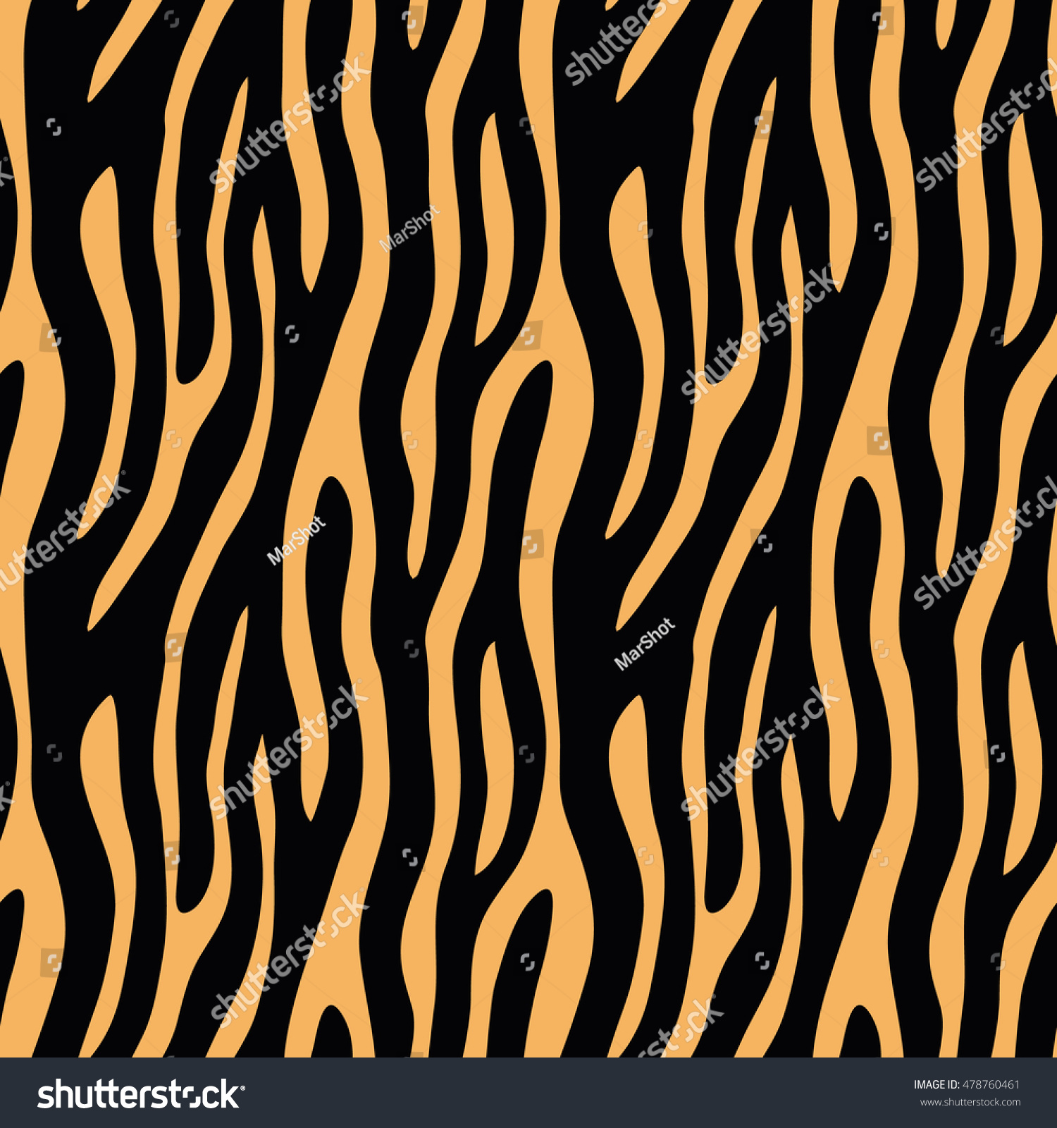 abstract animal print seamless vector pattern stock vector