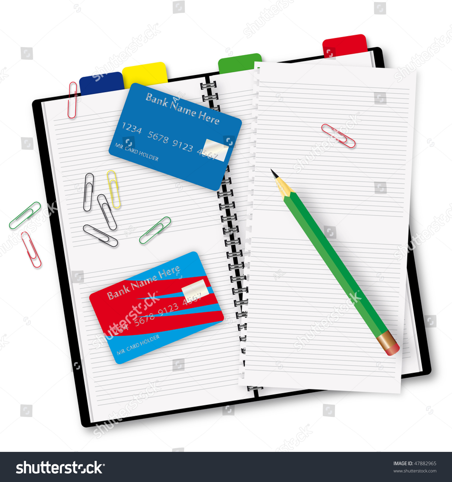 open book credit cards stock illustration shutterstock