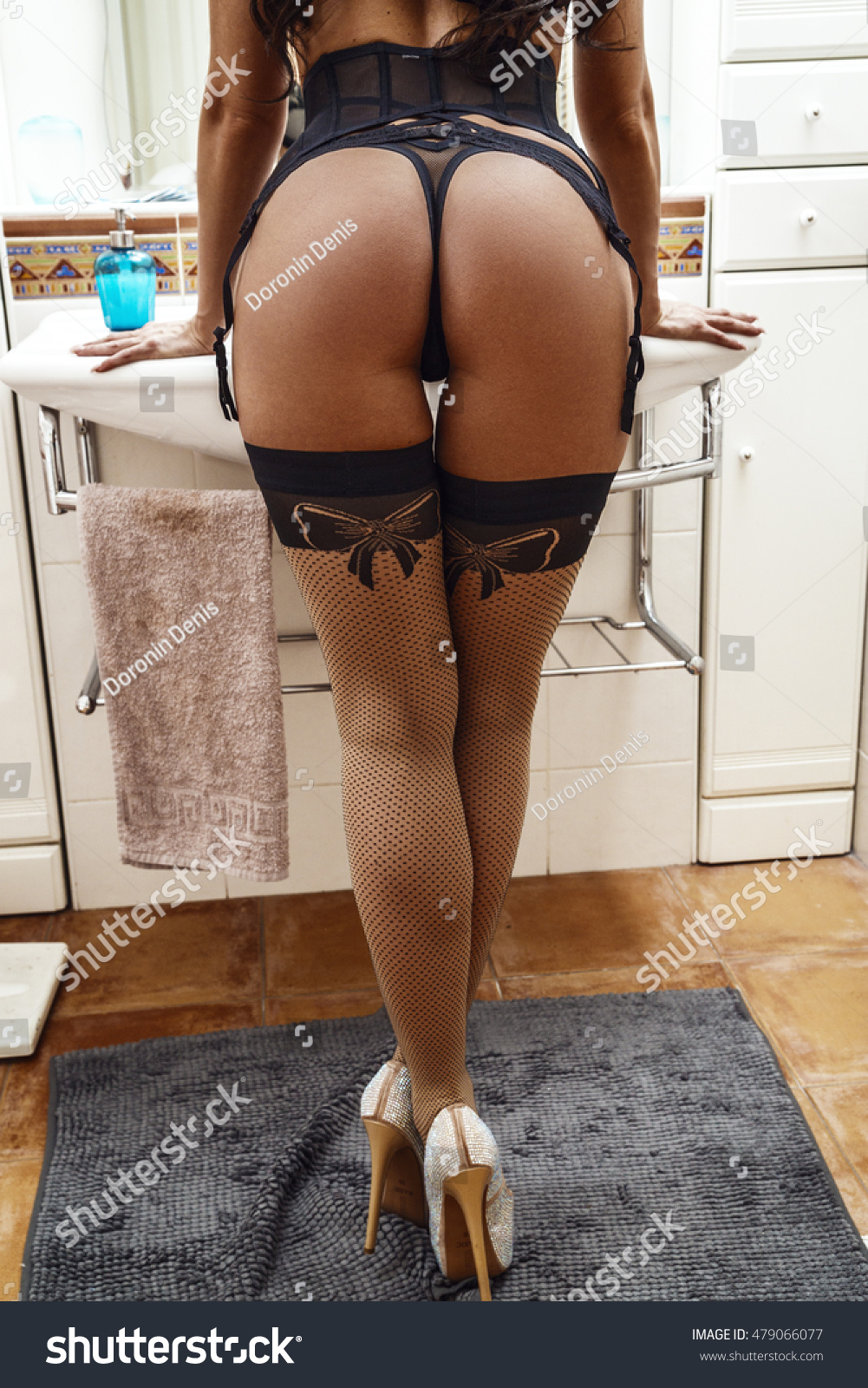 Hot ass stockings
