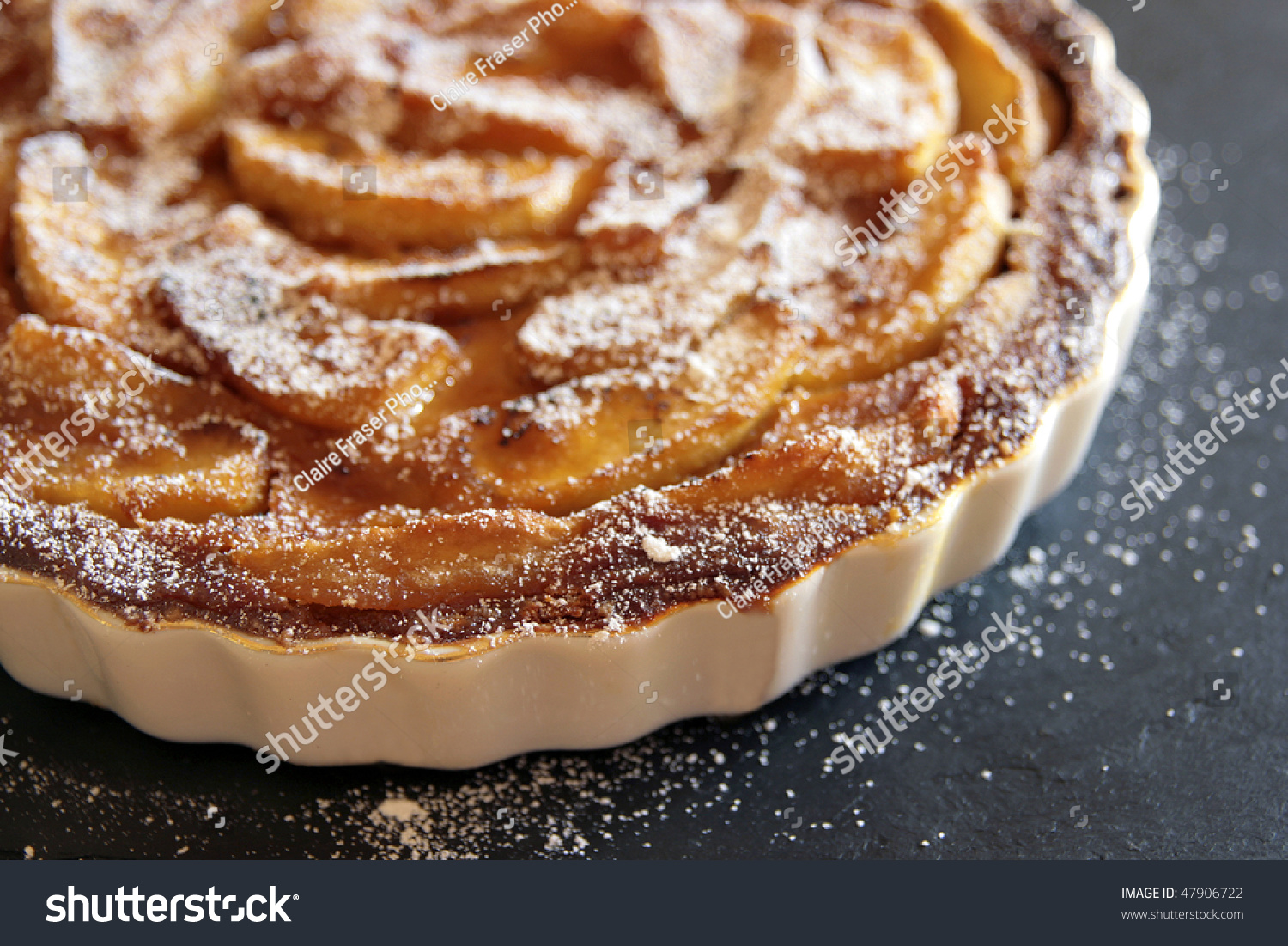 Caramelized Apple Tart Stock Photo 47906722 : Shutterstock
