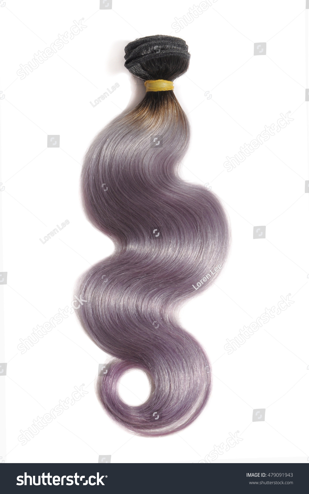 Body Wave Two Tone Ombre Hair Stock Photo Royalty Free 479091943