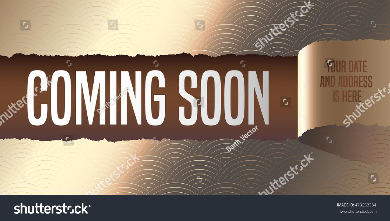 coming soon flyer