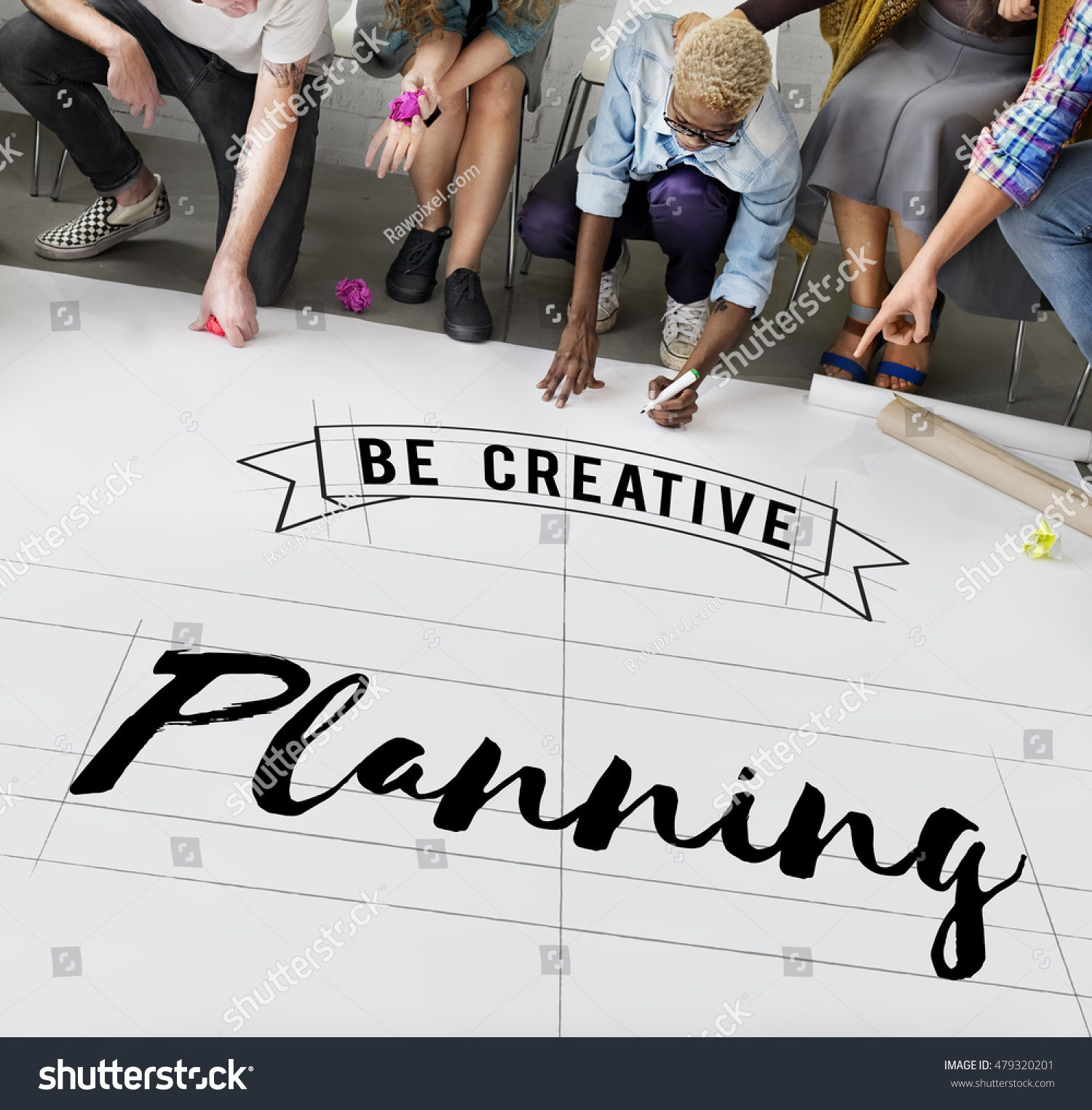 Planning Design Guide Objection Operation Concept Stock Photo 479320201 Shutterstock