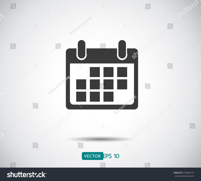 Calendar Logo : Calendar icon logo vector illustration stock