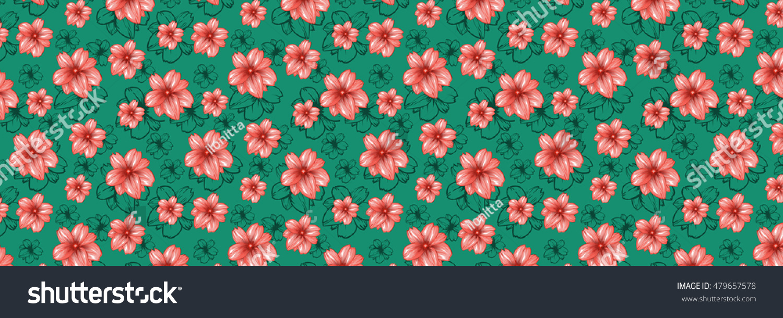big horizontal website header design wallpaper stock illustration