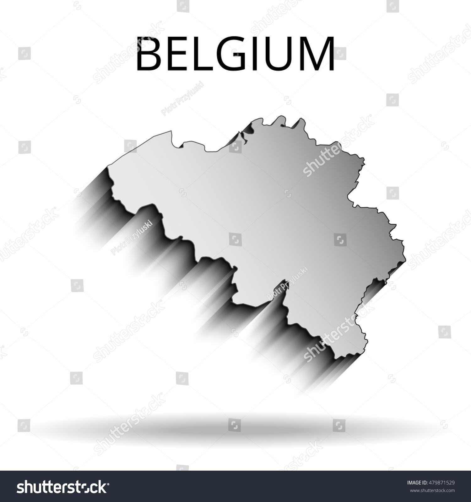 Belgium Map Vector Illustration 479871529 Shutterstock – Belgiummap