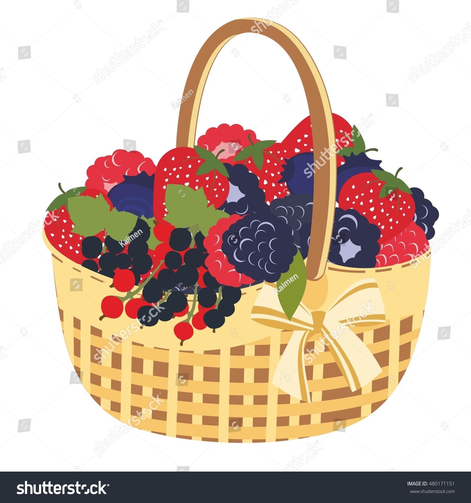 Berry Basket Clip Art