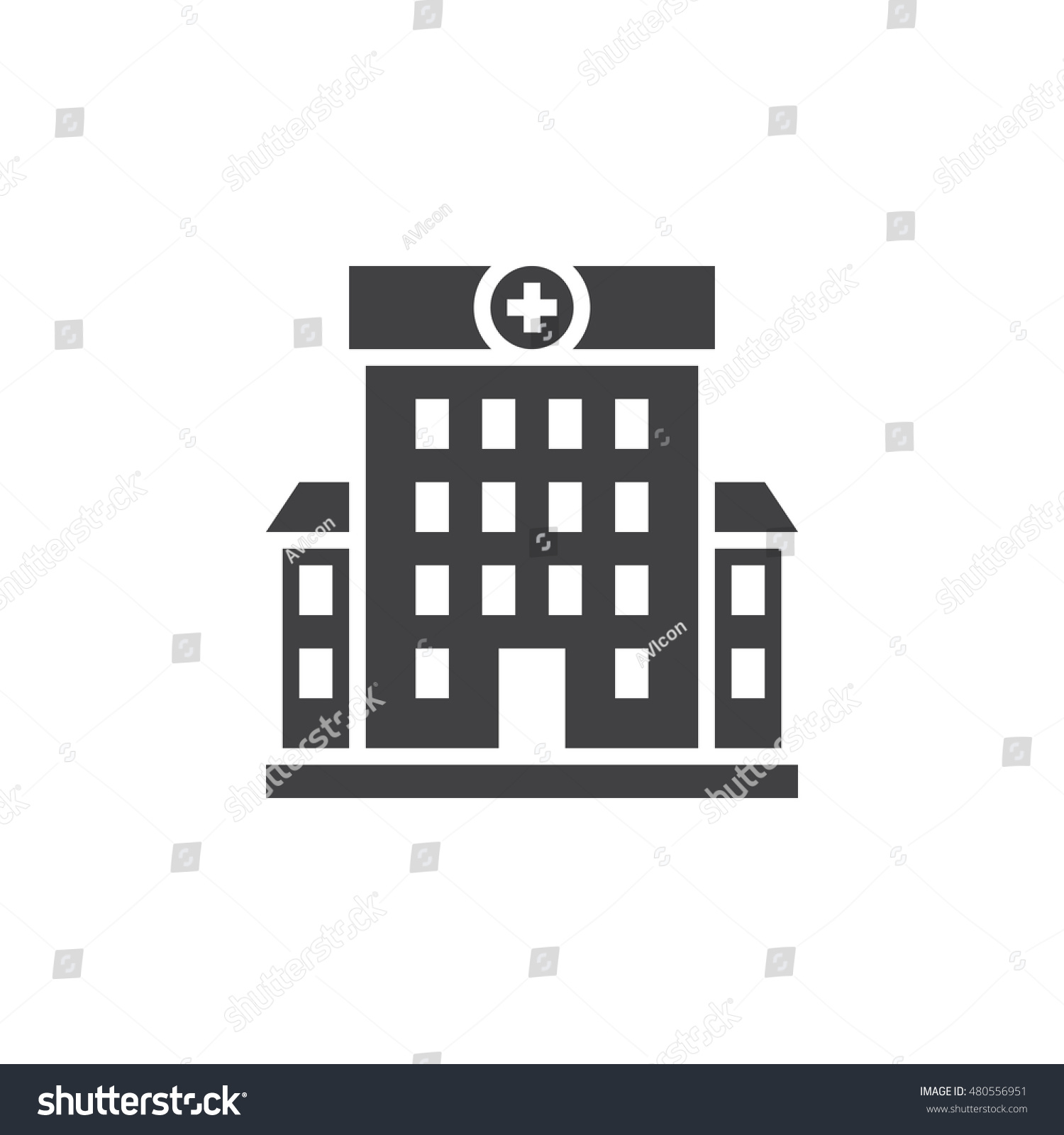 Hospital Symbol Clinic...