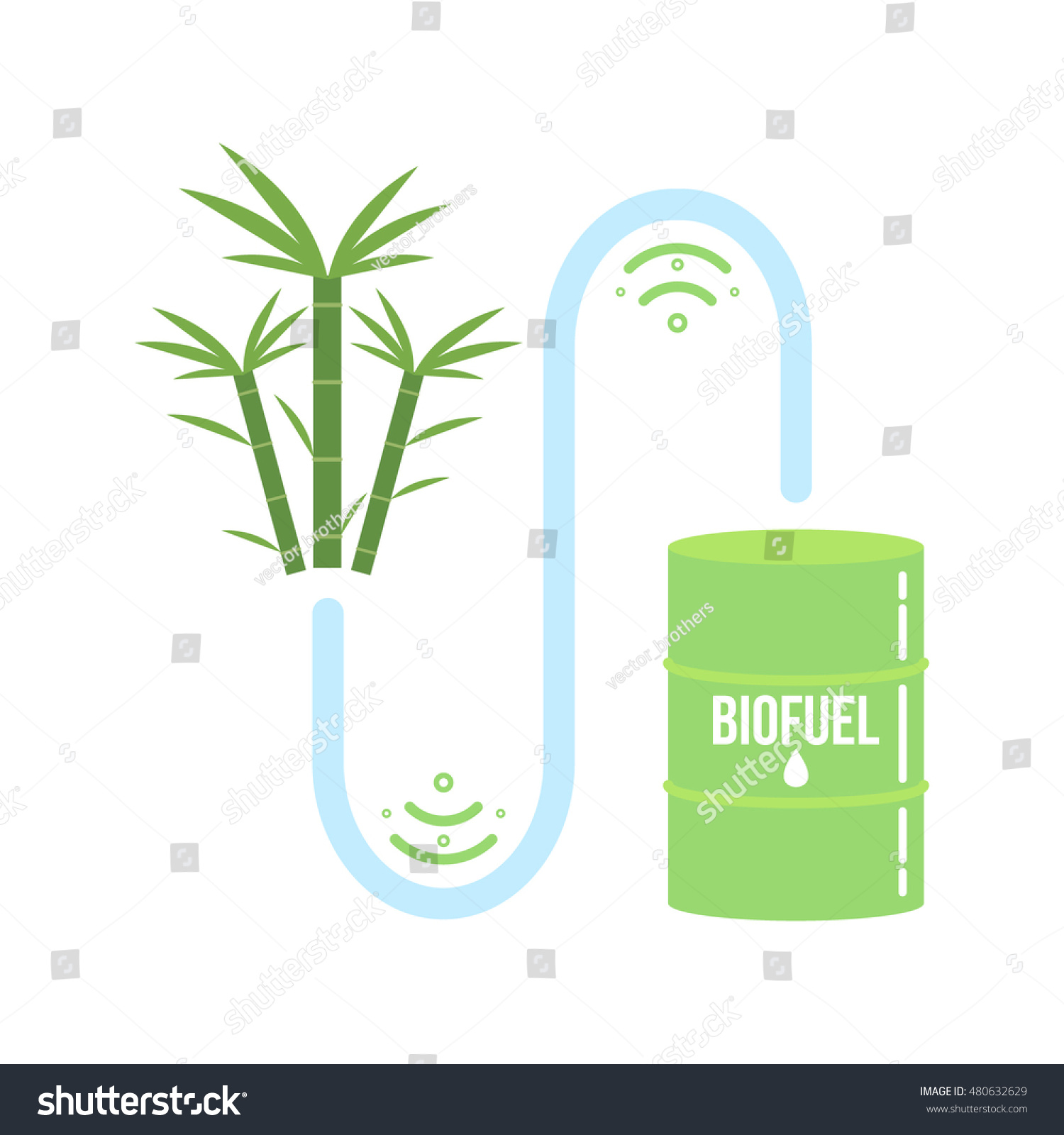 Sugarcane ethanol biofuel vector icon alternative stock vector sugarcane ethanol biofuel vector icon alternative environmental friendy fuel buycottarizona