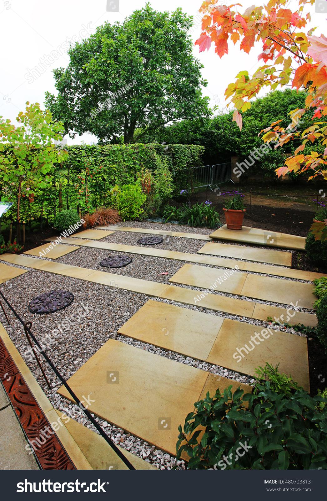 Garden design rhs harlow carr harrogate stock photo for Garden design harrogate