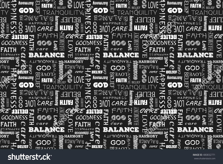 Pattern Words New Decorating Design