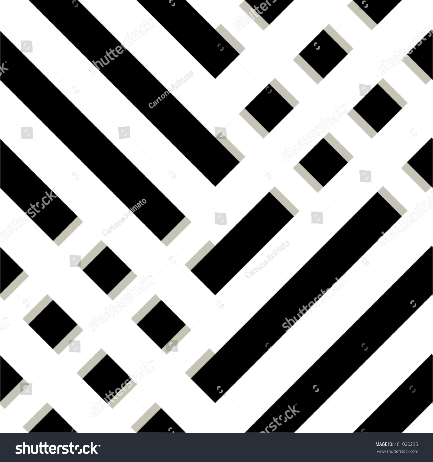 geometric pattern grid straight line strip seamless vector