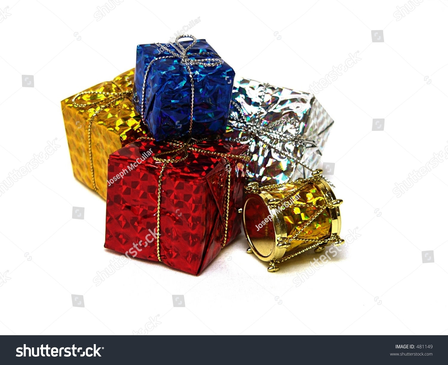 Gift wrapped presents stock photo safe to use 481149 shutterstock gift wrapped presents negle Images