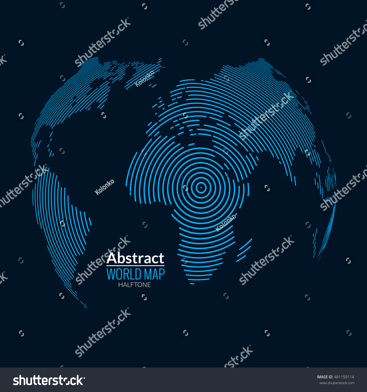 3 d world map globe planet lines stock illustration 481159114 3d world map globe planet lines global radial halftone concept gumiabroncs Gallery