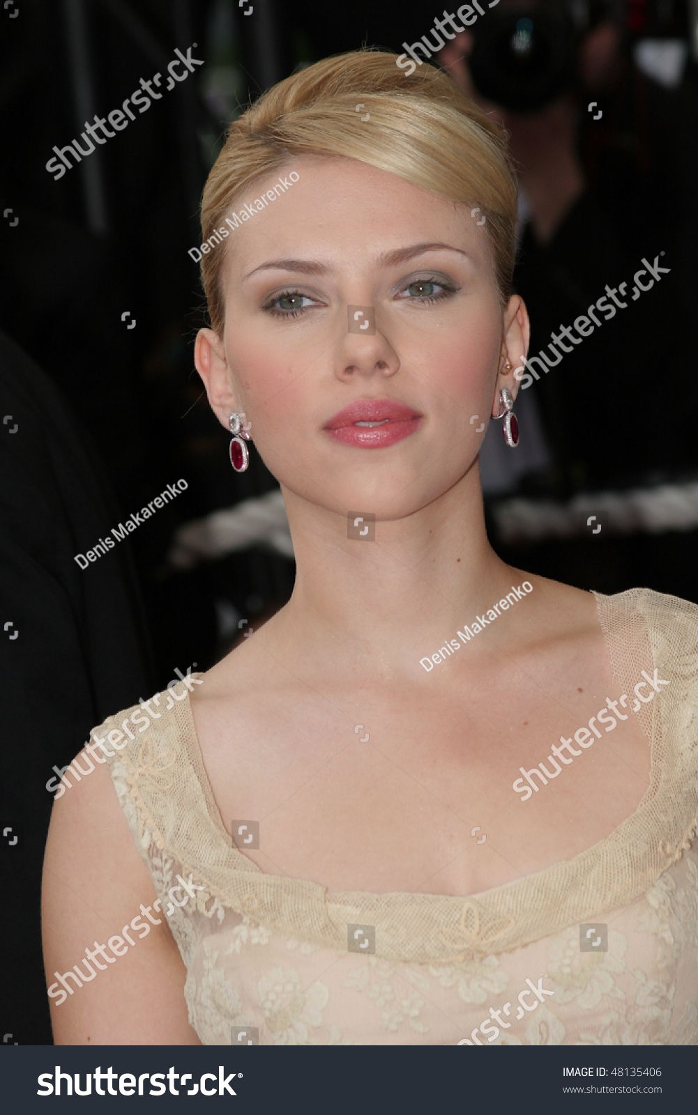 Scarlett Johansson Attend De Tom Nike Vol Kd Vii