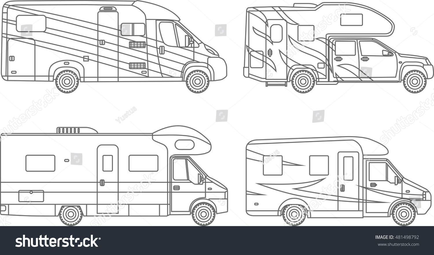 Coloring pages set different silhouettes car stock vector for Stock car coloring pages
