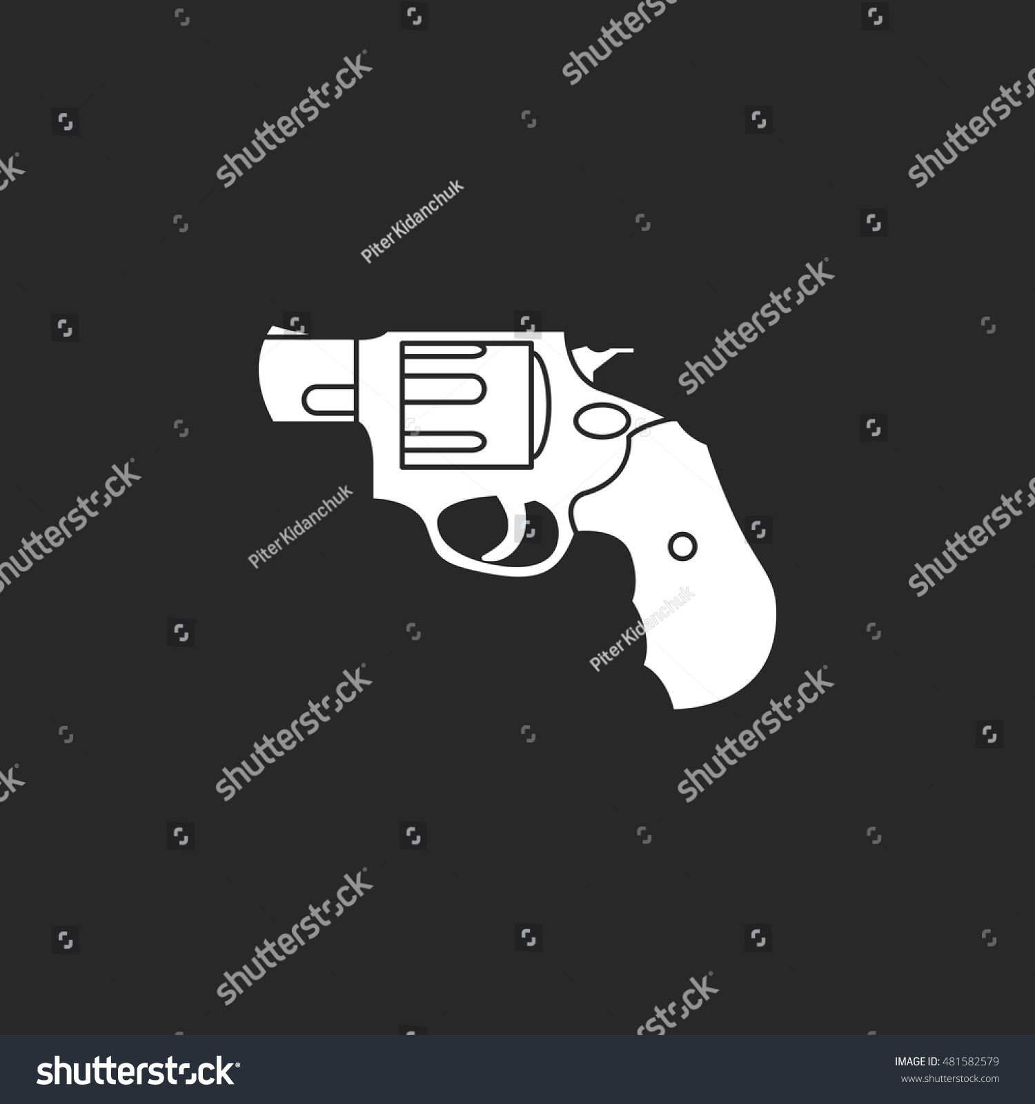 Colt stock symbol gallery symbol and sign ideas revolver gun symbol sign flat icon stock vector 481582579 revolver gun symbol sign flat icon on biocorpaavc
